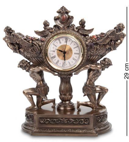 Часы Чаша урожая на плечах атлантов WS-618