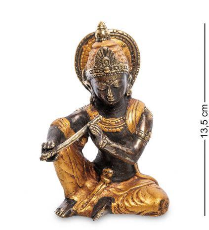 Фигурка Кришну бронза 24-186-01