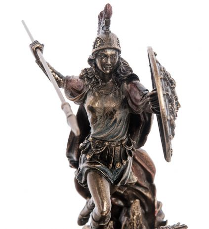 """Статуэтка """"Афина - Богиня мудрости и справедливой войны"""" WS-1010"""