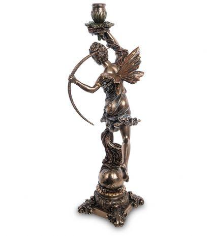 Статуэтка-подсвечник Диана - богиня охоты, женственности и плодородия WS-978