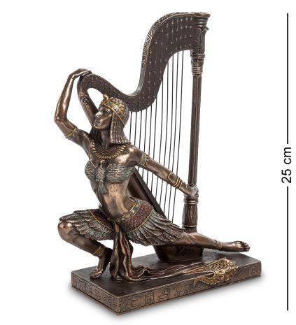 Статуэтка Египтянка с арфой WS-448