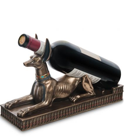 Держатель для бутылки Анубис - знаток целебных трав WS-1042