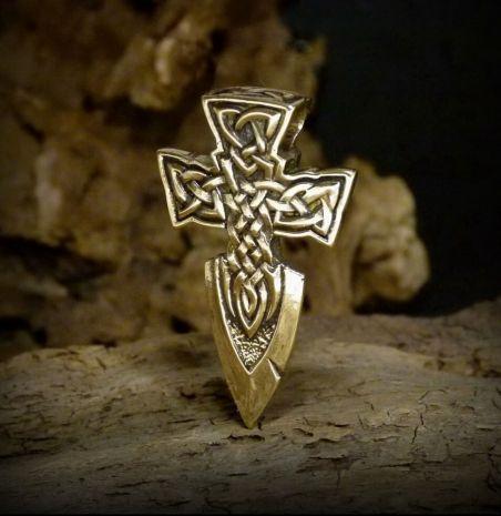 """Подвеска """"Кельтский крест-меч"""" KB-106"""