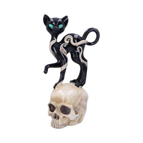 """Настольный светильник """"Кошка на черепе"""" D4915R0"""