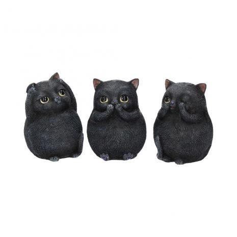 "Набор фигурок ""Три мудрых толстых кота"" B3655J7"
