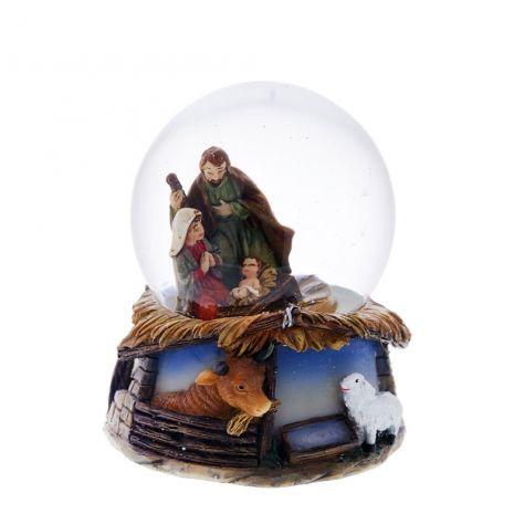 """Статуэтка в стеклянном шаре """"Рождение Христа"""" RM-721743"""