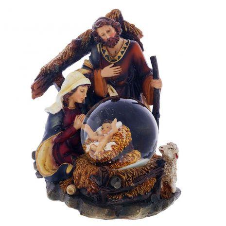 """Статуэтка в стеклянном шаре """"Рождение Христа"""" RM-721740"""