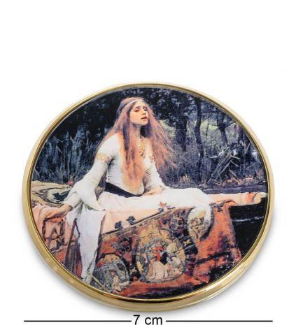 Зеркальце Леди из Шалот (Джон Уильям Уотерхаус) pr-M18WA