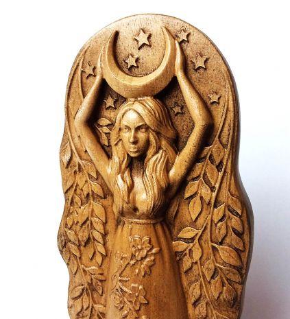 """Статуэтка """"Богиня Луны"""" (клен) DE-105"""