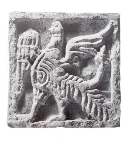 Серьги «Царь-птицы»