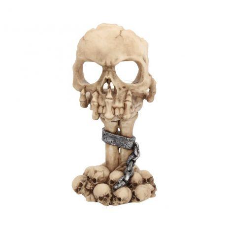 """Подсвечник """"Задумчивый череп"""" U2074F6"""