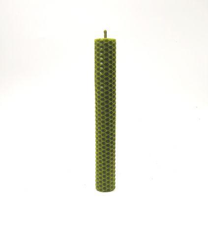 Зеленая программная свеча с травами «Финансовое изобилие» SV-134-3