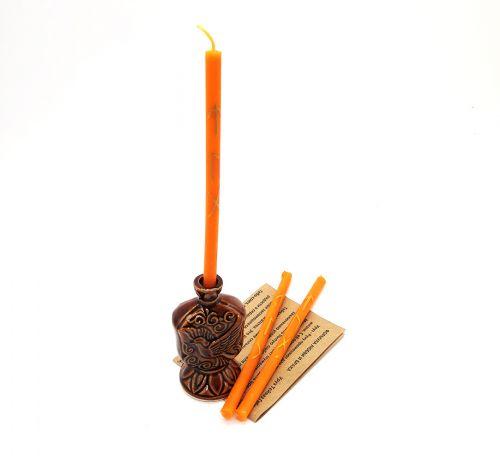 Набор рунных свечей с подсвечником Формула Любви и брака GL-101