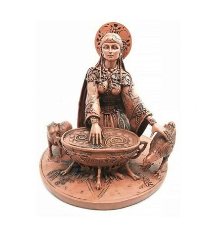 """Статуэтка """"Керидвен - богиня плодородия"""" 10882"""
