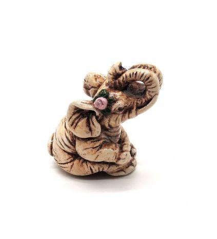 "Фигурка ""Слон с розой"" FG-106"
