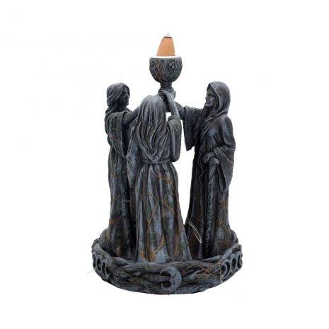 """Статуэтка-подставка для стелющихся благовоний """"Триединая богиня"""" B1879F6"""