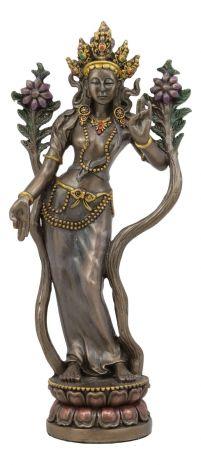 """Статуэтка """"Белая Тара - богиня Луны, сострадания и исцеления"""" 12128"""