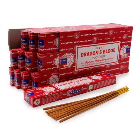 Благовония Satya Dragons Blood Кровь дракона 450DrB