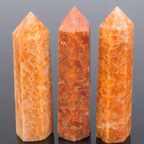 Кристалл Солнечного камня (Индия) 90-95 мм RS-080066