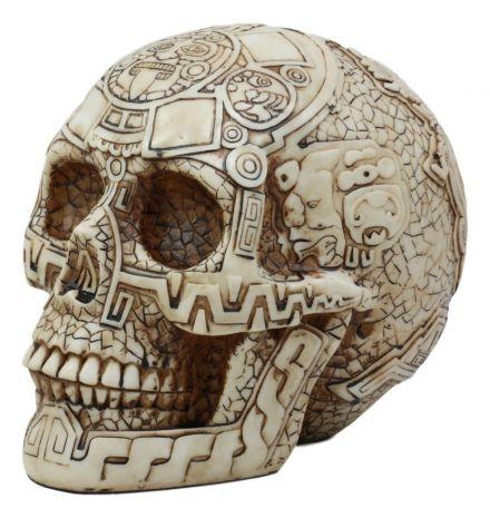 Череп воина-майя MU-028