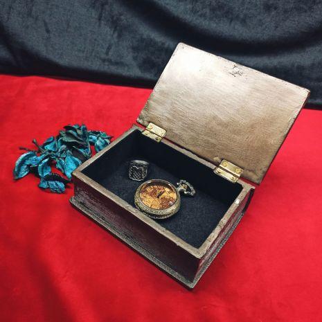 """Шкатулка """"Книга масонов"""" 11359"""