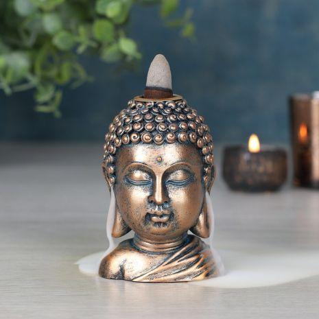 "Подставка для стелющихся благовоний ""Голова Будды"" BF_21938"