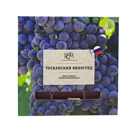 Свечи чайные ТОСКАНСКИЙ ВИНОГРАД 9 шт 1300912