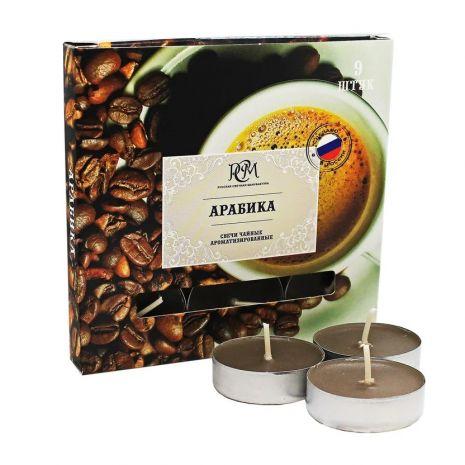 Свечи чайные АРАБИКА 9 шт 1300923