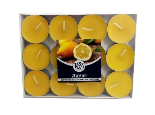 """Свечи чайные """"Лимон"""" 24 шт 1202405"""