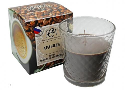 "Свеча в стакане ""Арабика"" 3113023"