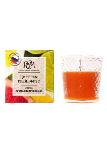 "Свеча в стакане ""Цитрус & Грейпфрут"" 3113035"
