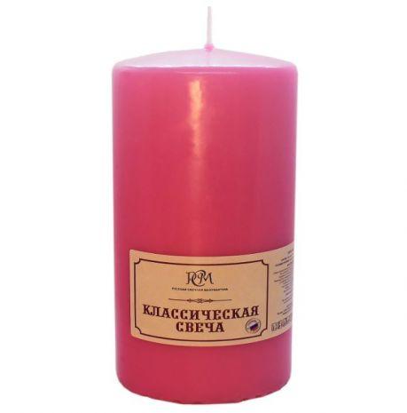 Свеча Классическая 150*70 розовая 6115705