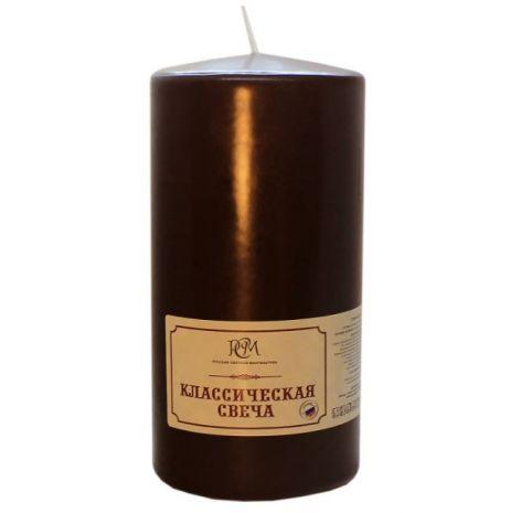 Свеча Классическая 150*70 коричневая 6115708