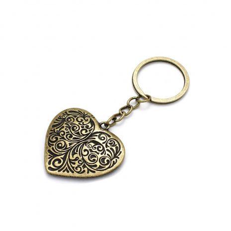 Брелок Сердце (бронза) 111070019-8