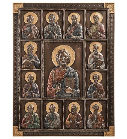 """Панно """"Иисус и двенадцать Апостолов"""" WS-1118"""