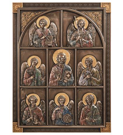 """Панно """"Иисус и Архангелы"""" WS-1117"""