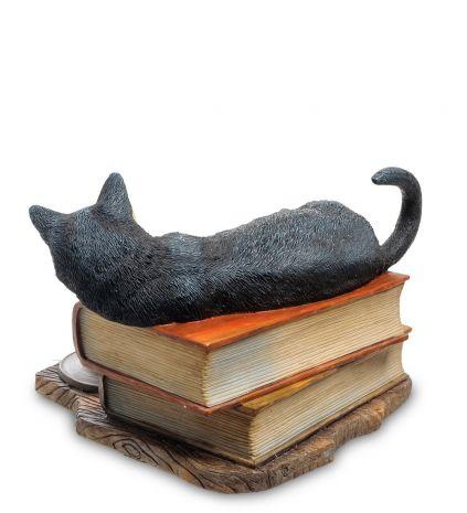 "Статуэтка ""Кот на книгах"" (Лиза Паркер) WS-843"