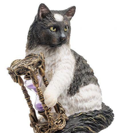 """Статуэтка """"Кот с песочными часами"""" (Лиза Паркер) WS-842"""