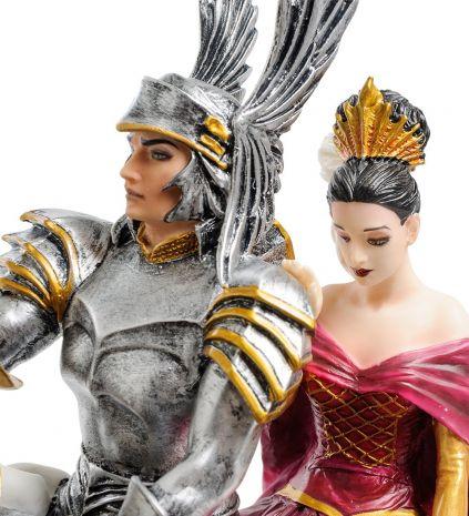 "Статуэтка ""Рыцарь и его Дама сердца"" (Р.Томпсон) WS-840"