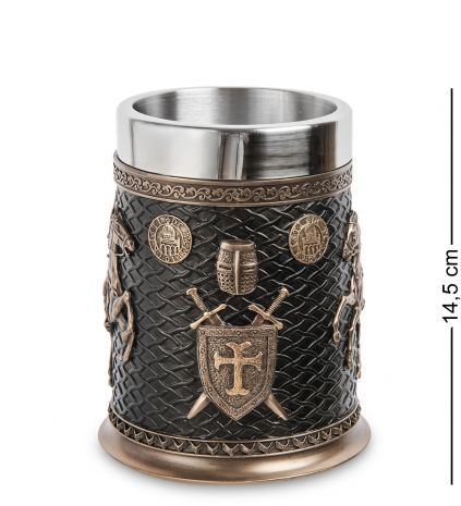 "Пивная кружка ""Рыцарь-крестоносец"" WS-1077"
