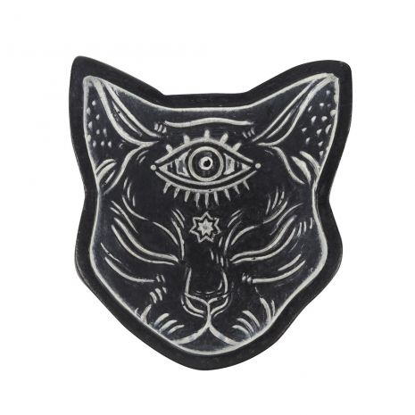 """Подставка для благовоний """"Мистическая кошка"""" FT_23231"""