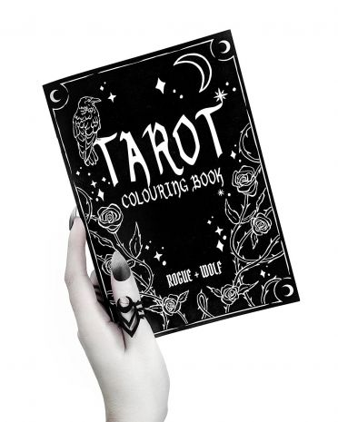 "Книга-раскраска ""Tarot Colouring Book"" CB-01"