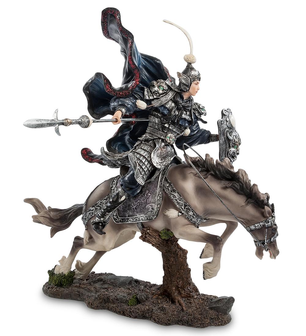 """Статуэтка """"Китайский воин на коне"""""""