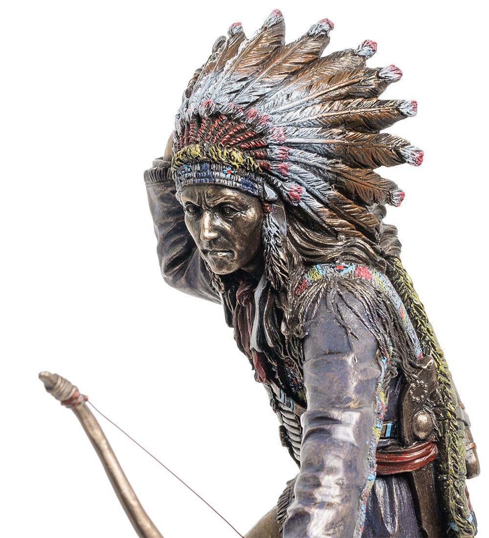 "Статуэтка ""Индеец апачи"""