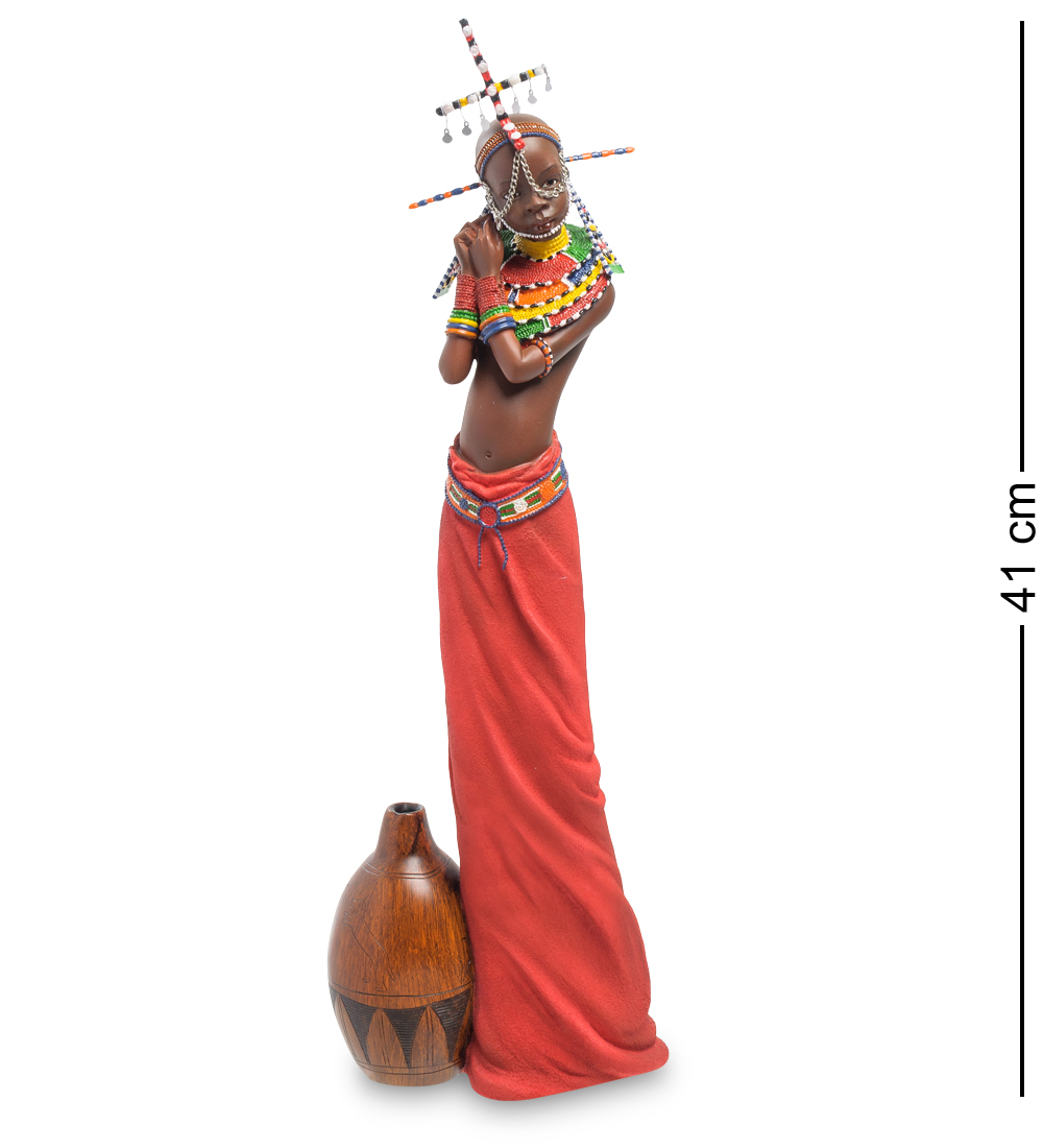 """Статуэтка """"Девушка племени Масаи"""""""