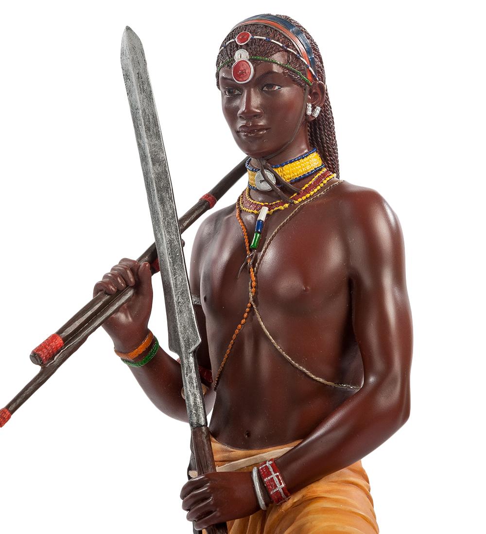 """Статуэтка """"Воин племени Масаи"""""""