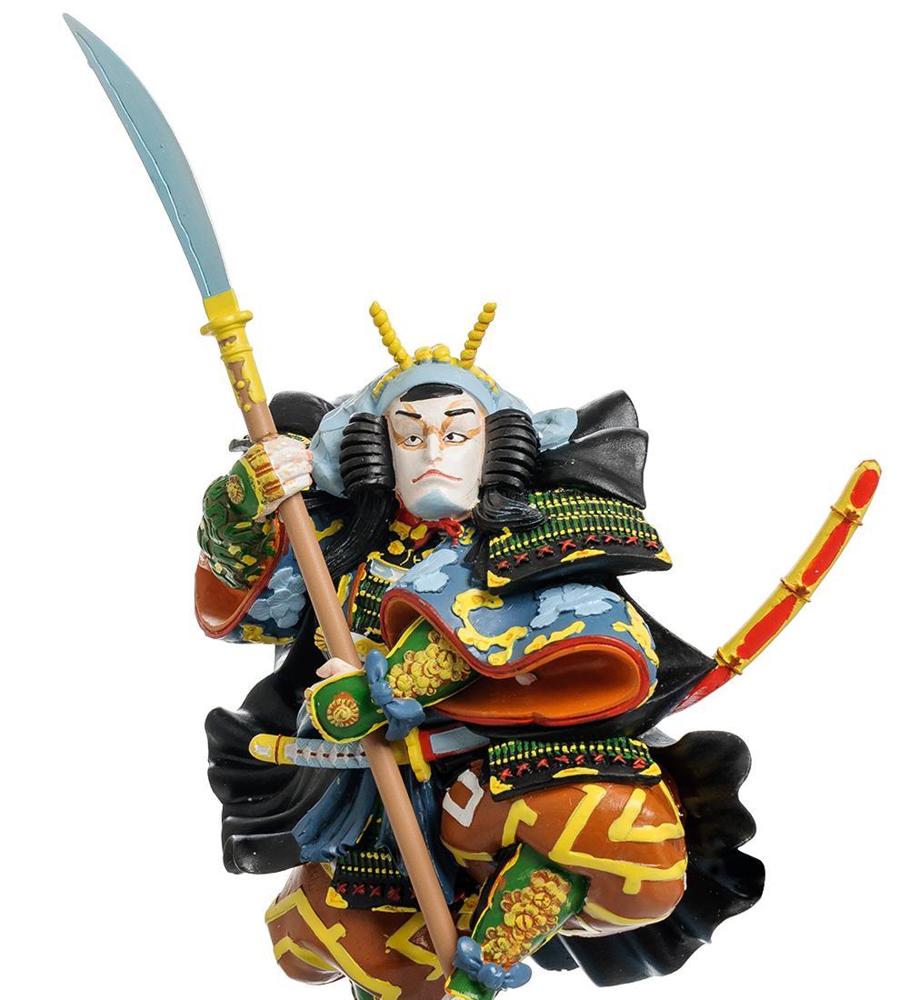 "Статуэтка ""Японский воин Kabuki: Ichikawa Kodani IV"""