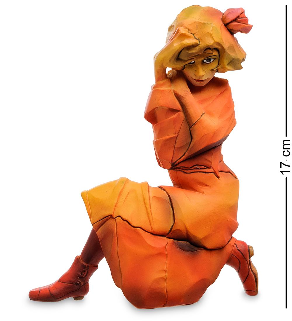 """Статуэтка """"Женщина в красно-оранжевом платье"""" (Эгон Шиле) pr-SCH02"""