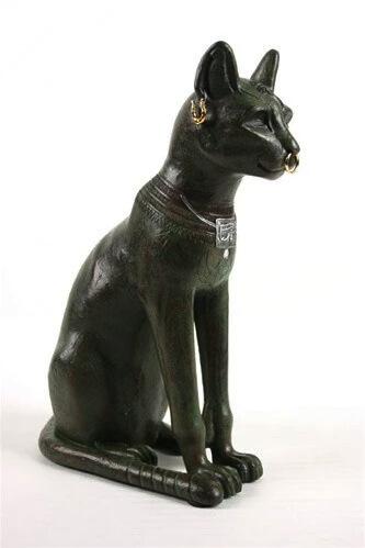 """Статуэтка """"Египетская кошка Бастет"""" (кошка Гайер-Андерсона) MU-023"""