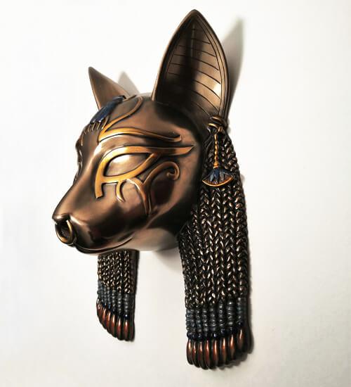 """Панно """"Египетская богиня-кошка Бастет"""" MU-024"""